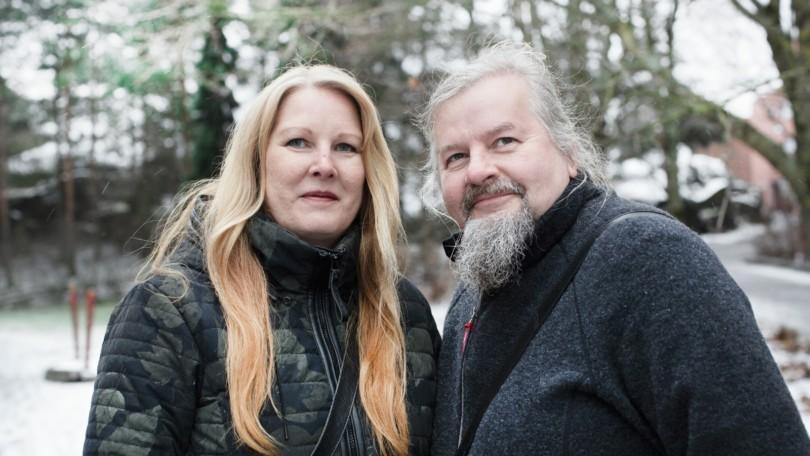 Maikki ja Kari Kandell.