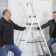 Woodfoxin luotsaajat: vasemmalta projektijohtaja Arto Mähönen ja toimitusjohtaja Timo Haapoja.