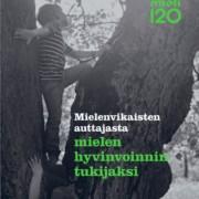 120-vuotishistroriikin kansikuva, jossa kaksi lasta kiipeää vanhassa puussa