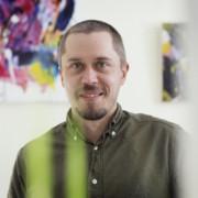 Porträtt på Kasper Muttonen